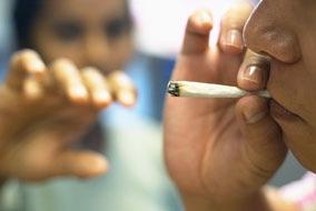 Marijuana Smoking Teen