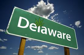 Delaware Marijuana Sign