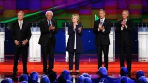 Democratic Party Primary Debate, Oct. 13, 2015