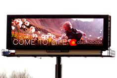 Come to Life Tourism Billboard, Colorado