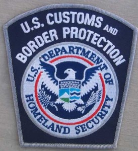 U.S. Customs and Border Protection Patch Badge