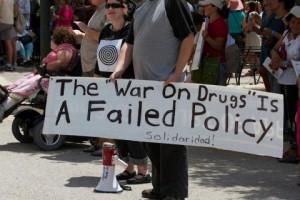 Drug War Sign
