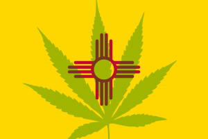 New Mexico Marijuana Flag
