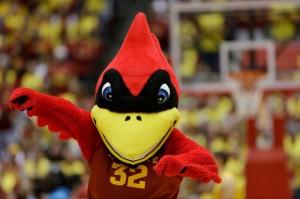 Cy the Cardinal Iowa State