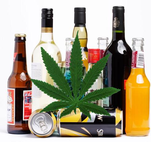 Marijuana Alcohol