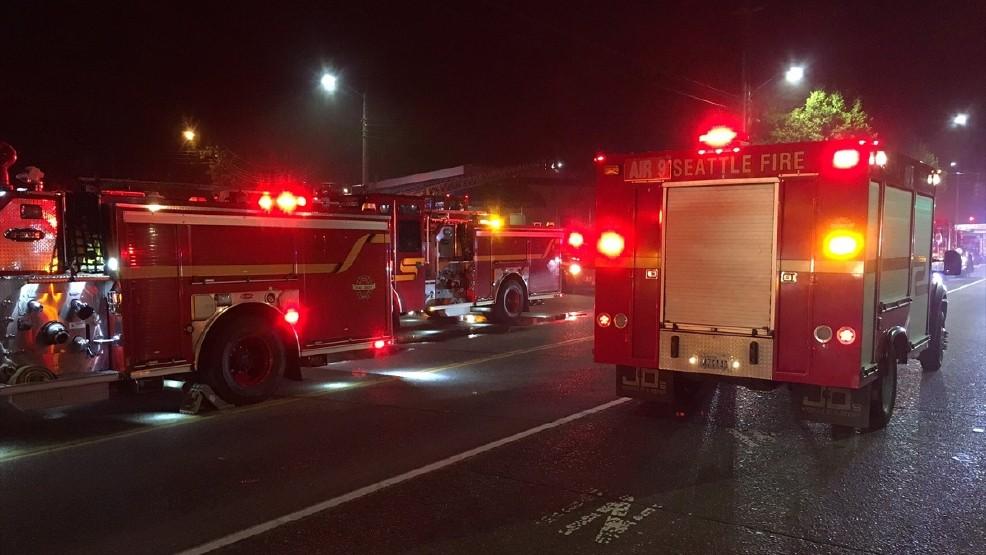 Firefighters battle blaze at legal Seattle marijuana grow site