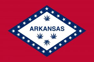 Arkansas Marijuana Flag