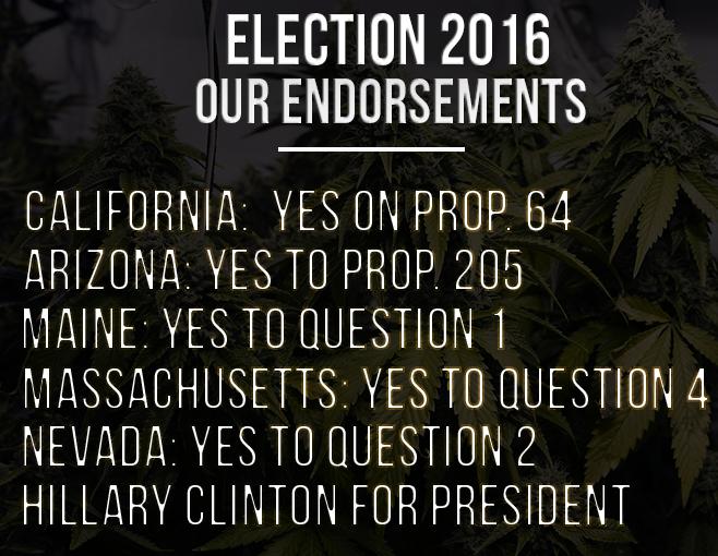 Election 2016 Endorsements