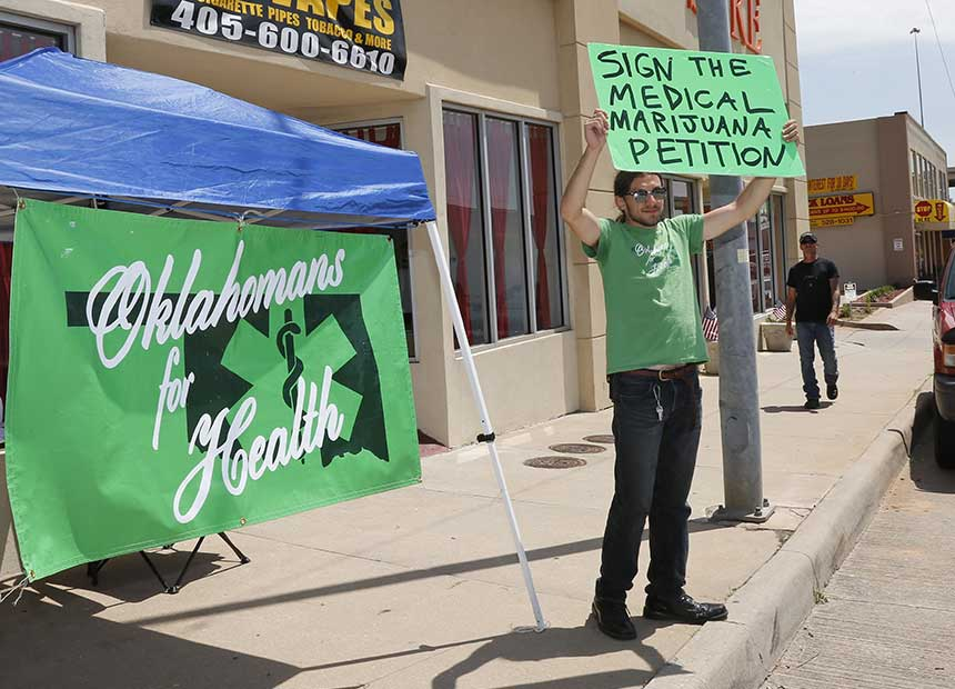 Oklahomans for medical marijuana