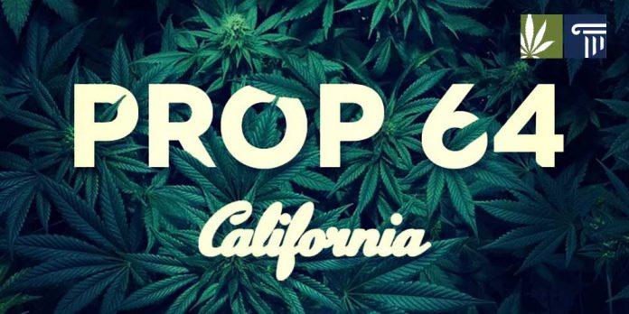 Prop 64 affecting marijuana charities
