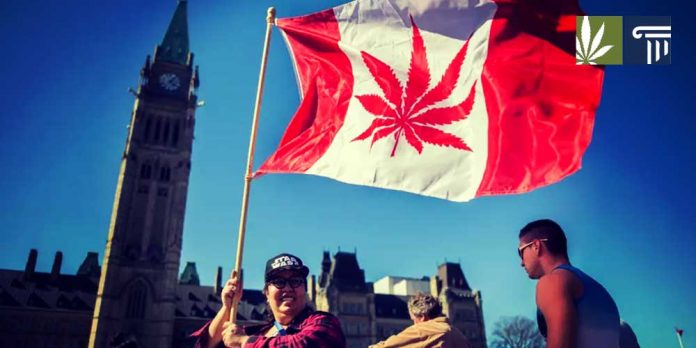 Canada legalized recreational marijuana use