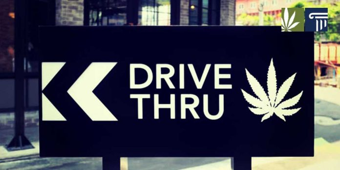 Joint Rivers dispensary drive through Washington