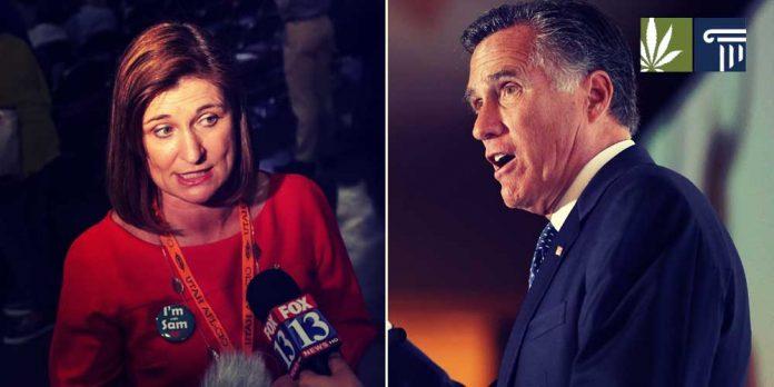 Jenny Wilson Mitt Romney Utah Senate
