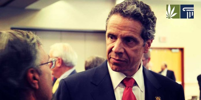 Andrew Cuomo policy statement influenced by marijuana companies