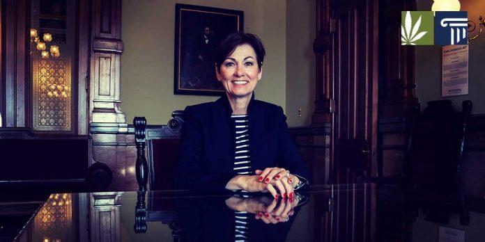 Kim Reynolds Vetoes Medical Marijuana Expansion Bill