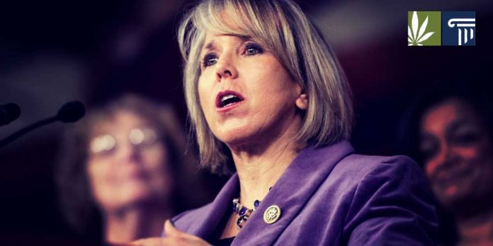New Mexico Governor Michelle Lujan Grisham Marijuana