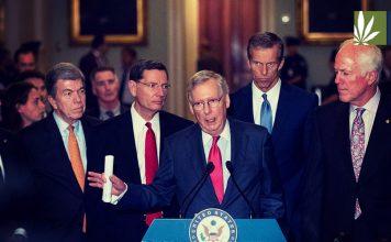 senate republicans blame cannabis dispensary robberies