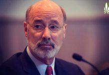 gov wolf marijauna legalizaton economic recovery